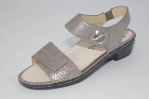 FinnComfort Damen-Sandale DOLCE fango (Größe: 6 1/2)