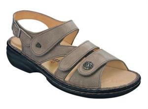 FinnComfort Sandale  Gomera Taupe (Größe: 39)