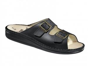 FinnComfort Sandale  Kreta Schwarz (Größe: 45)