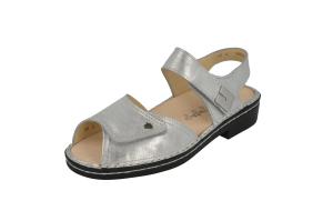 FinnComfort Sandale  Luxor  Argento (Größe: 5 1/2)