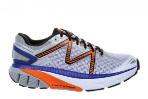 MBT Schuh Running Men?s GT 16 M WHITE / BURNT ORANGE / ROYAL (Größen:: 45)