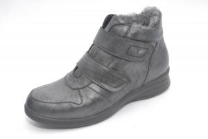 FinnComfort  Damen-Stiefel Montello Luxory, blackargento (Größe: 5)