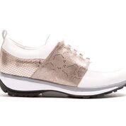 Xsensible stretchwalker Damen Halbschuh - NICE white/malibu gold (Größe: 37)