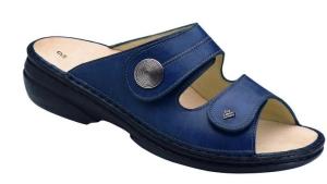 FinnComfort Sandale  Sansibar Blau (Größe: 36)