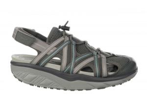 MBT Damenschuh Sandale Jasira 6 Trail Sandal  VolcanoGray/Misty Blue (Größe: 37)