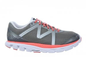MBT Schuh Running Women?s Speed 16 W CoolGrey / Orange / White (Größen:: 36)