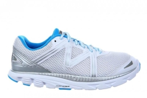 MBT Schuh Running Women?s Speed 16 W White / PowderBlue / Silver (Größen:: 37)