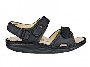 Finnamic Sandale  Yuma Schwarz / Olive (Größe: 39)