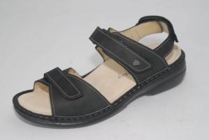 FinnComfort Damen-Sandale ALORA-S schwarz (Größe: 39)