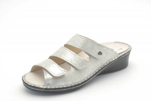 FinnComfort  Sandale CREMONA argento (Größe: 5,5)