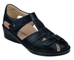 FinnComfort Damen-Sandale Fünen schwarz (Größe: 4)