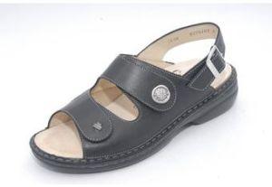 FinnStretch Damen-Sandale ISERA schwarz (Größe: 39)