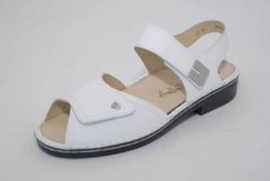 FinnComfort Damen-Sandale LUXOR weiss Nappa (Größe: 5)