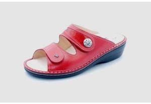 FinnComfort Sandale MIRA-SOFT red/flamme (Größe: 36)