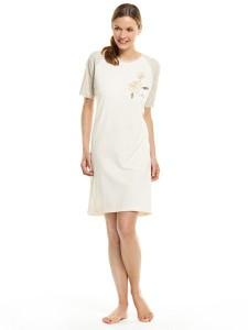 Medima Classic Damen Nachthemd 1/4 Arm natur (Größe: S)