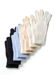 Medima Classic ThermoAS Handschuhe mit Angora, schwarz