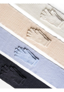 Medima Classic ThermoAS Set Schal/Handschuh, weiß