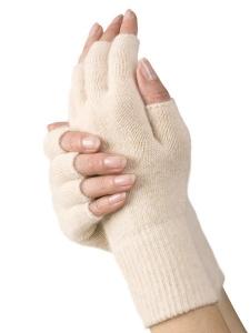Medima Classic ThermoAS Handschuhe 1/2 Finger, haut