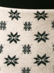 Medima Classic ThermoAS  Nierenwärmer mit Sternen naturmelange (Größe: L)