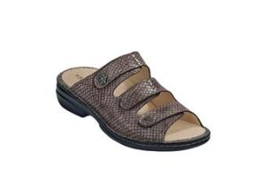 FinnComfort Damen-Sandale Menorca-SoftTaupe (Größe: 40)