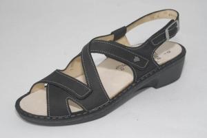 FinnComfort Damen-Sandale PALMANOVA schwarz (Größe: 7)