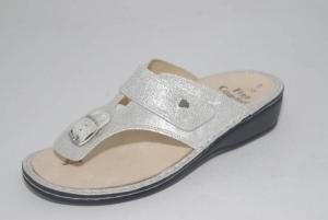FinnComfort Zehensteg-Sandale PHUKET argento (Größe: 41)
