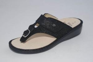 FinnComfort Zehensteg-Sandale PHUKET Plata (Größe: 40)