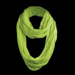 Masterdis - Wrinkle Loop Scarf - Schlauchschal in lime (grün)
