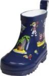 Playshoes halbhoher Gummistiefel dunkelblau, Gr. 18-25 (Pirat: Gr. 18)