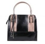 BULAGGI Handtasche Henkeltasche in schwarz-bronze