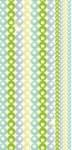 TWISTER Multifunktionstuch in weiß mit bunten Sternen - Kinder