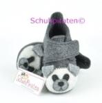 Rohde warme Hausschuhe grau, Bär, Gr. 18-19 (Hausschuhe 2071/50: Gr. 18)