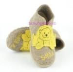 Superfit Hausschuhe beigebraun Smile-Bär, Gr. 22-23 + 25 (Hausschuhe 1-295-44: Gr. 22)