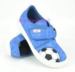 Superfit Hausschuhe in blau Fußball, Gr. 31-32 + 34-35 + 38 (Hausschuhe 2-273-84: Gr. 34)