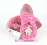 Superfit Hausschuhe in Pink Pferdchen, Gr. 23 (Pferd 9-258-64: Gr. 23)