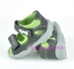 Ricosta Lauflerner Sandale CISPI in anthrazit/grün Gr. 19 + 20 (Cispi: Gr. 20)