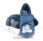 Superfit Hausschuhe in dunkelblau Drachenkopf, Gr. 26 (Drache 8-278-80: Gr. 26)