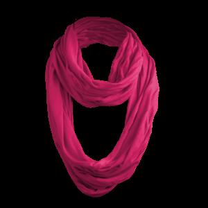 Masterdis - Wrinkle Loop Scarf - Schlauchschal in magenta (pink)