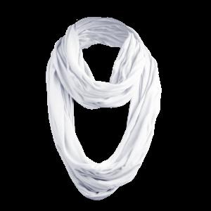 Masterdis - Wrinkle Loop Scarf - Schlauchschal in weiß