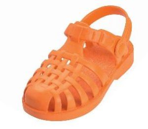 Playshoes Badesandale / Beachsandale in orange, Gr. 26/27 (orange 173990: Gr. 26/27)