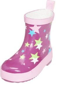 Playshoes halbhoher Gummistiefel Sterne pink, Gr. 19-25 (Sterne pink: Gr. 19)