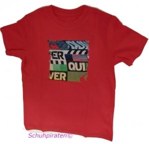 Quiksilver T-Shirt E.Broadcast pink, Gr. 176 (kibje932/passion fruit: Gr. 176 = T16)