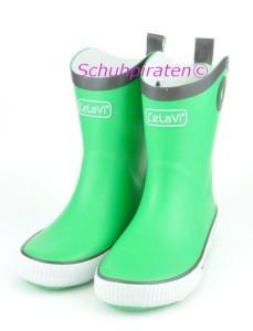 CeLaVi Gummistiefel grün, Gr. 33+34 (Gummistiefel 1076/974: Gr. 33)