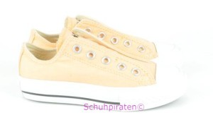 Converse Chuck Slip In pastell-orange (PEACH COBBLE), Gr. 28 + 30 + 32 (Slip peach cobble: Gr. 28)