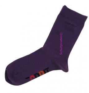 Esprit Kinder Socken in dunkellila im Doppelpack, Gr. 23-26 (Socken dunkel-lila: Gr. 39-42)