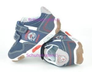 Geox Sport Halbschuhe blau - rot/weißer Schriftzug, Gr. 20 + 22 (BaluBoy V: Gr. 20)