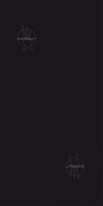 TWISTER Multifunktionstuch in einfarbig schwarz für Erwachsene