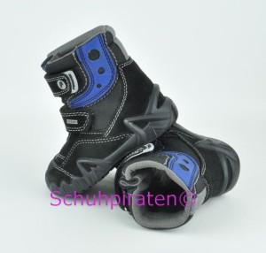 Primigi Winterstiefel MOKO schwarz / blau, Gr. 23 (MOKO 76371/77: Gr. 23)