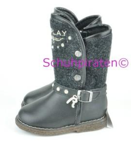 Replay Stiefel Reißversch. schwarz, Gr.20 fällt klein aus (ALISYA: Gr. 20)