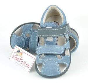 Ricosta Zehenschutzsandale KENO jeansblau, Gr. 20 + 22 (KENO: Gr. 22)